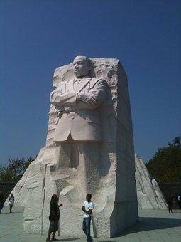 Statue, Martin Luther King Memorial, Washington