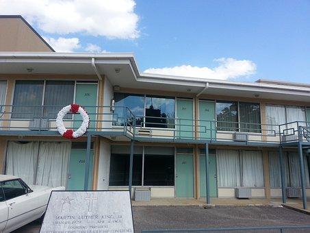 Lorraine Motel In Memphis, Tn, Mlk, Martin Luther King