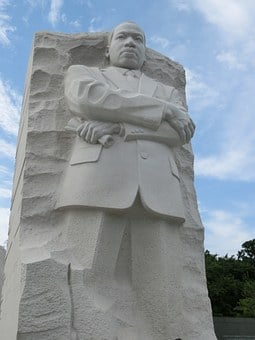 Monument, Martin Luther King, Places Of Interest, Usa