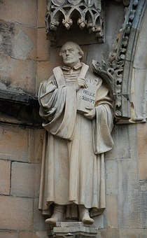 Martin Luther, Protestant, Reformation, Fig, Monument