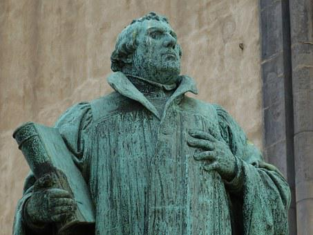 Martin Luther, Protestant, Statue, Monument, Fig