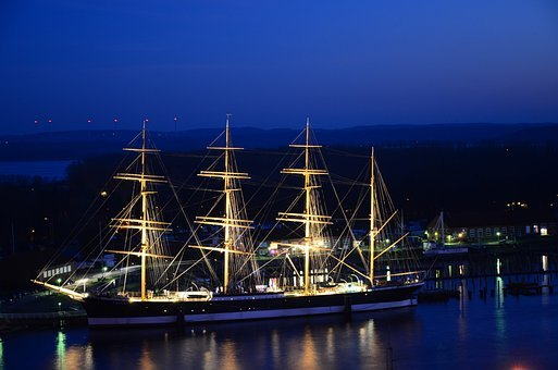 Passat, Travemünde, Museum Ship, Flying P Liner, Pamir