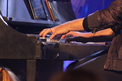 Piano, Player, Concert, Music, Instrument, Key