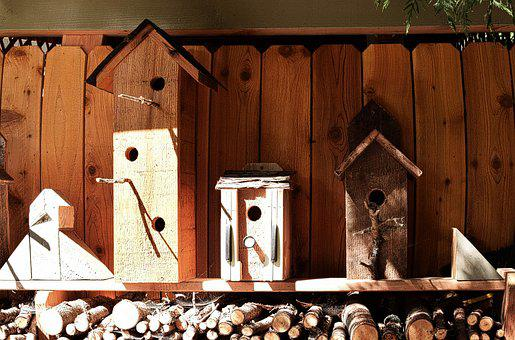 Birdhouses, Barn Wood, Wood, Box, Nature, Wooden