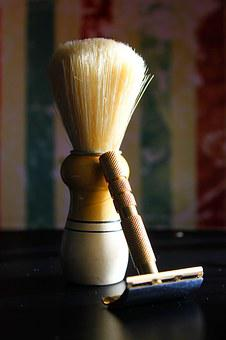 Razor, Shaving Brush Holders, Hair, Shaving, Retro, Old