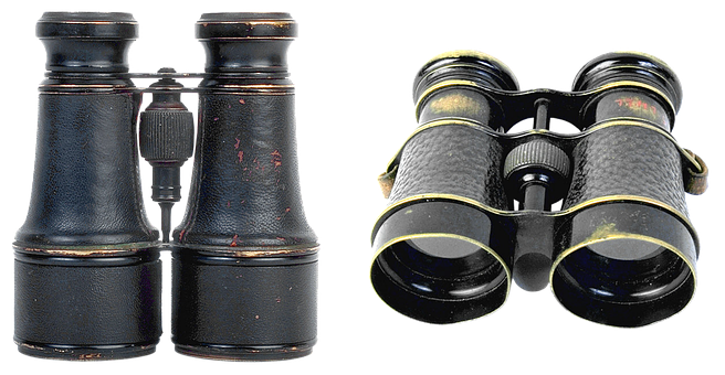 Binoculars, Optics, Appliance, Old, See, Military