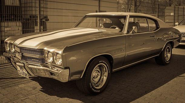Oldtimer, Chevrolet, Chevelle, Auto, Vehicle, Usa, Pkw