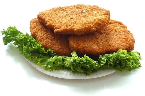 Chicken Cutlet, Schnitzel, Food, Fry Up, Chicken
