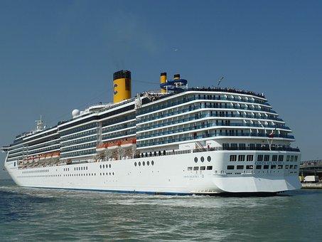 Cruise, Ship, Mediterranean Sea, Vacation