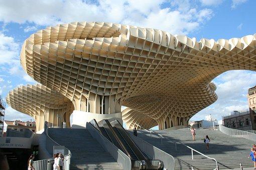 Seville, Architecture, Spain, Metropol Parasol