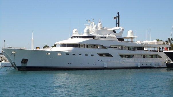 Boat, Ship, Luxury, Luxury Boat, Sea, Summer, Spain
