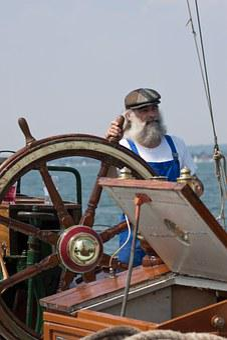 Sailor, Fisherman, Man, Person, Thames, Barge, Skipper