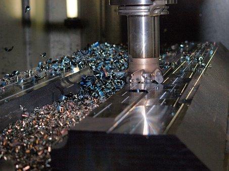 Milling, Machining, Industry, Milling Machine, Tool