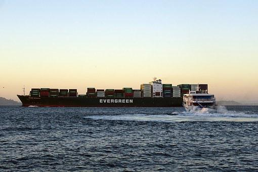 Cargo Liner, Ship, Transportation, Transport, Freight