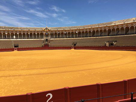 Arena, Travel, Bullfight, Seville