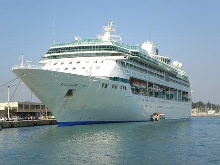 Cruise Ship, Ship, Ocean, Sea, Travel, Boat, Luxury