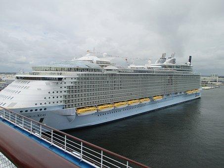Cruise, Ship, Cruise Ship, Travel, Vacation, Ocean