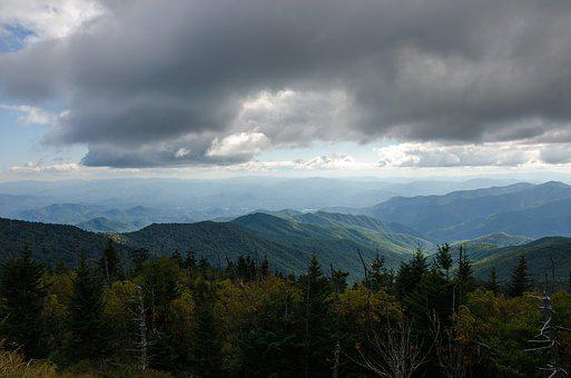 Usa, America, Nature, National Park, Clingmans Dome