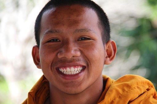 Teeth, Dental, Smile, White Teeth, Healthy Teeth, Monk