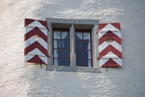Window, Middle Ages, Castle, Wildegg, Aargau