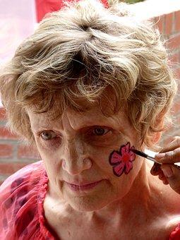 Face, Portrait, Make Up, Female, Woman, Closeup Makeup