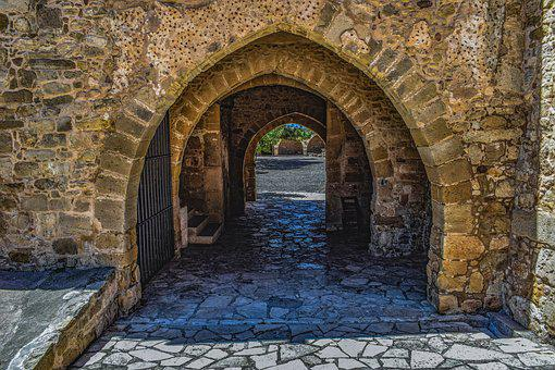 Arc, Alley, Architecture, Facade, Building, Stone