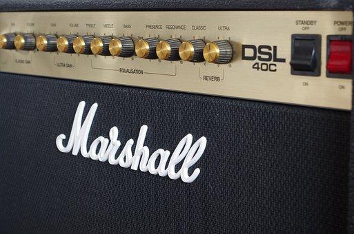 Marshall, Dsl40c, Amplifier, Guitar Amplifier, Amp