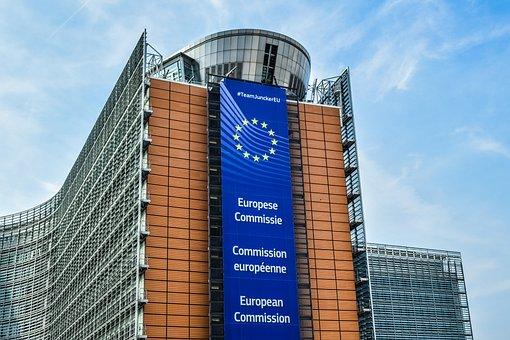 Belgium, Brussels, European Commission, Architecture