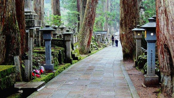 Koyasan, Japan, Buddhism