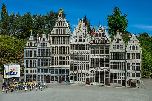 Mini Europe, Miniature Park, Architecture, Buildings