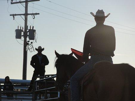 Cowboy, Horse, Rodeo, Riding, Western, Horseback, Jump