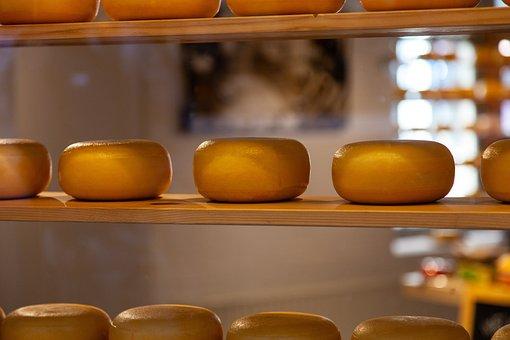 Cheese, Shelf, Power Supply, Dairy, Calcium, Kaasbollen