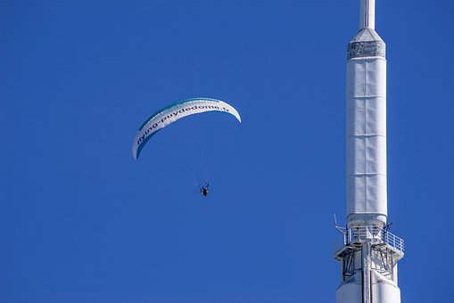 Paraglide, Gliding, Paraglider, Parachute, Flying