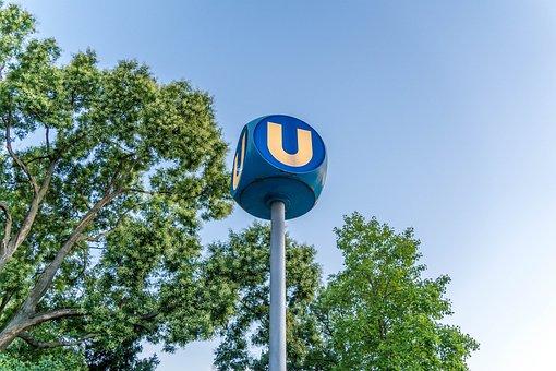 Ubahn, Vienna, Railway Station, Urban, Station, Public