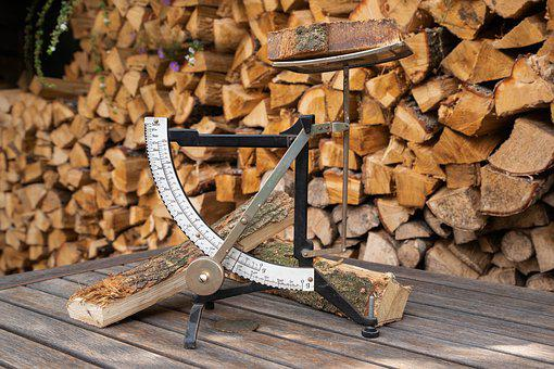 Scale, Bascule, Roads, Old Fashioned, Wood, Wood Pile