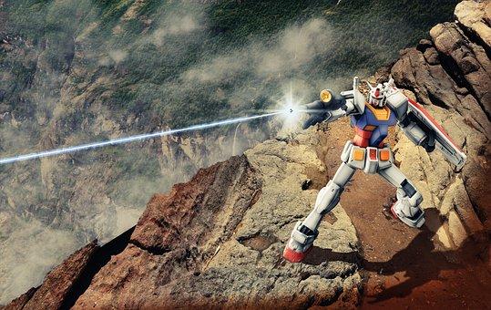 Robot, Fight, Sci Fi, Weapon, Futuristic, Forward