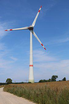Wind Turbine, Wind Turbines, Energy, Electricity