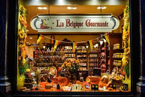 Chocolaterie, Shop, Window, Showcase, Chocolate, Store