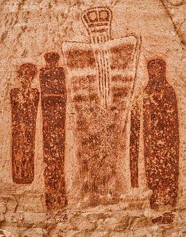 Anasazi, Rock Art, Art, Rock, Nature, Design