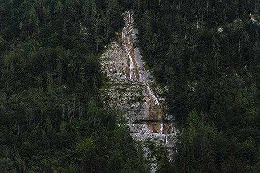 Waterfall, Berchtesgaden, Berchtesgadener Land, Water