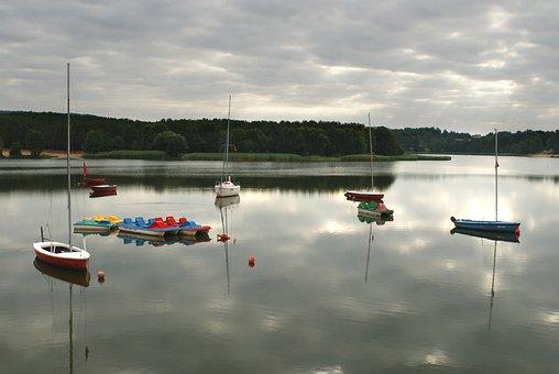 Sailboat, Boat, Yacht, Water, Sailboats, Port