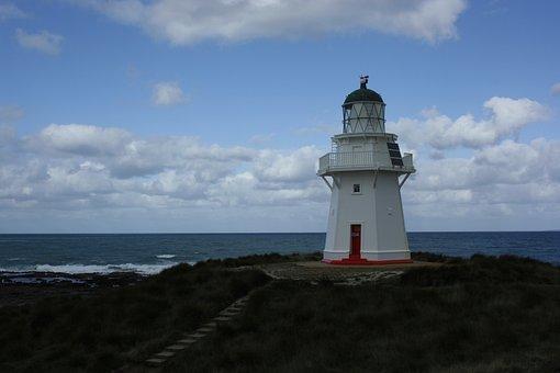 Catlins, Lighthouse, New Zealand, South Island