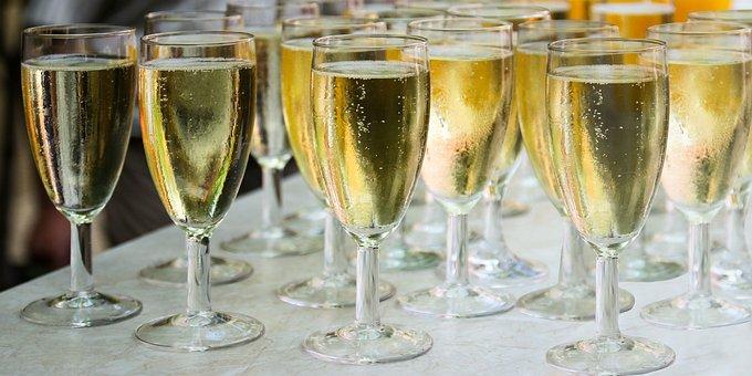Drink, Champagne, Glass, Champagne Glass, Celebrate