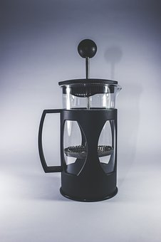 French Press, Coffee, Tools, Equipment, Caffeine