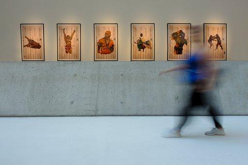 Maxxi, Rome, Italy, Modern, Art, Roma, Gallery, Woman