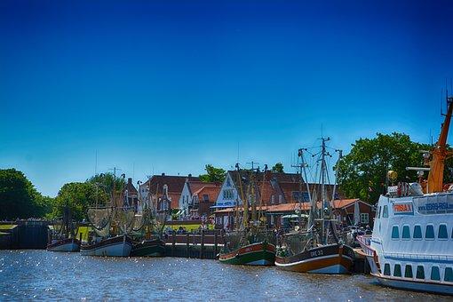 Greetsiel, Fishing Village, Fishing Vessel, Fishing