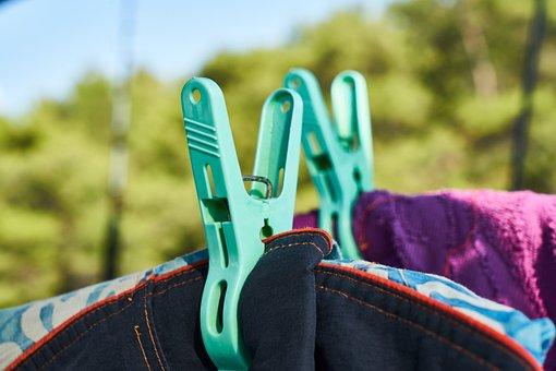Washing, Mandal, Colors, Dry, Hang, Macro, Detail