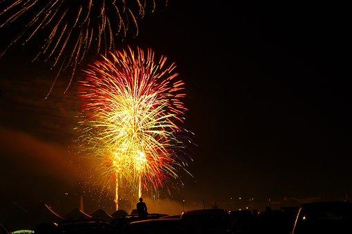Fire, Artifice, Party, 14, July