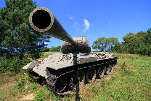 Tank, Main Battle Tank, The War, Slovakia, Monument