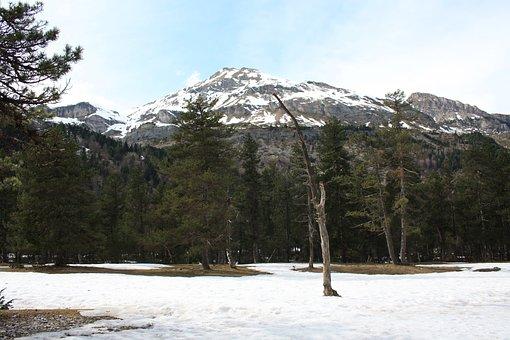 Snow, Hiking, Gavarnie, Winter, Mountain, Nature, Cold